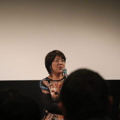 映画「標的の島 風かたか」三上智恵監督による舞台挨拶を開催しました。