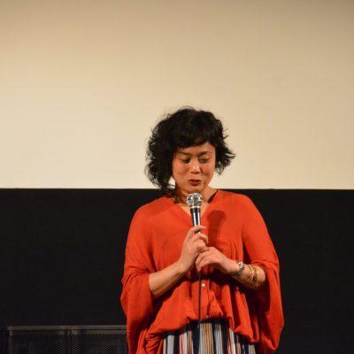 映画「話す犬を、放す」熊谷まどか監督による舞台挨拶を開催しました。
