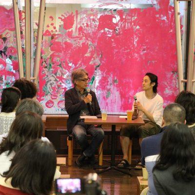 神戸アートビレッジセンター アートサロン 「森優貴ダンスを語る」を開催しました。