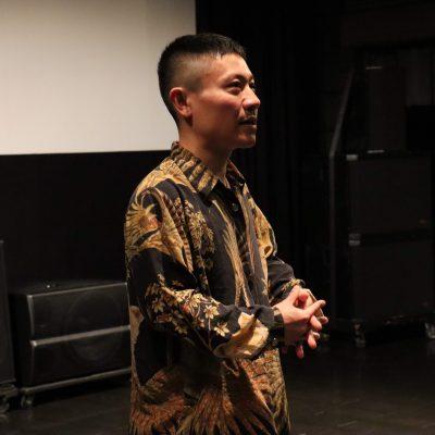 保護中: 『枝葉のこと』二ノ宮隆太郎監督による舞台挨拶を開催しました。